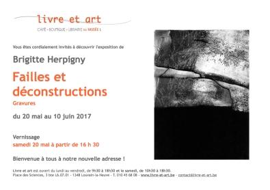 Invitation Brigitte Herpigny